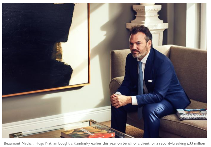 The Times LUXX Magazine's Melanie Gerlis interviewed co-founder Hugo Nathan on what it means to be an art advisor in the 21st Century.  How does one add value? And how to identify a good one.  His take? Go for substance over style.