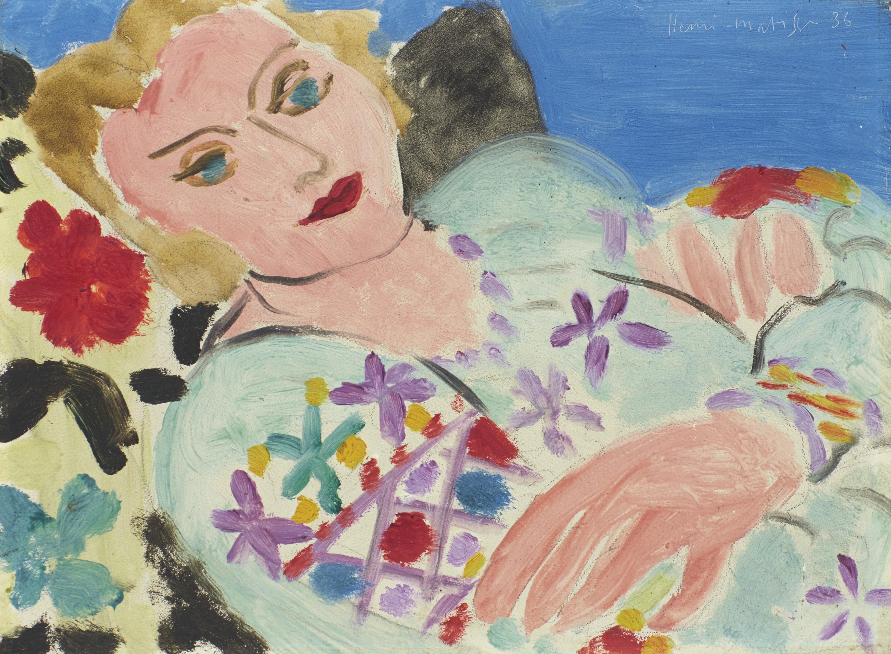 Henri Matisse - La Blouse Verte Brodée