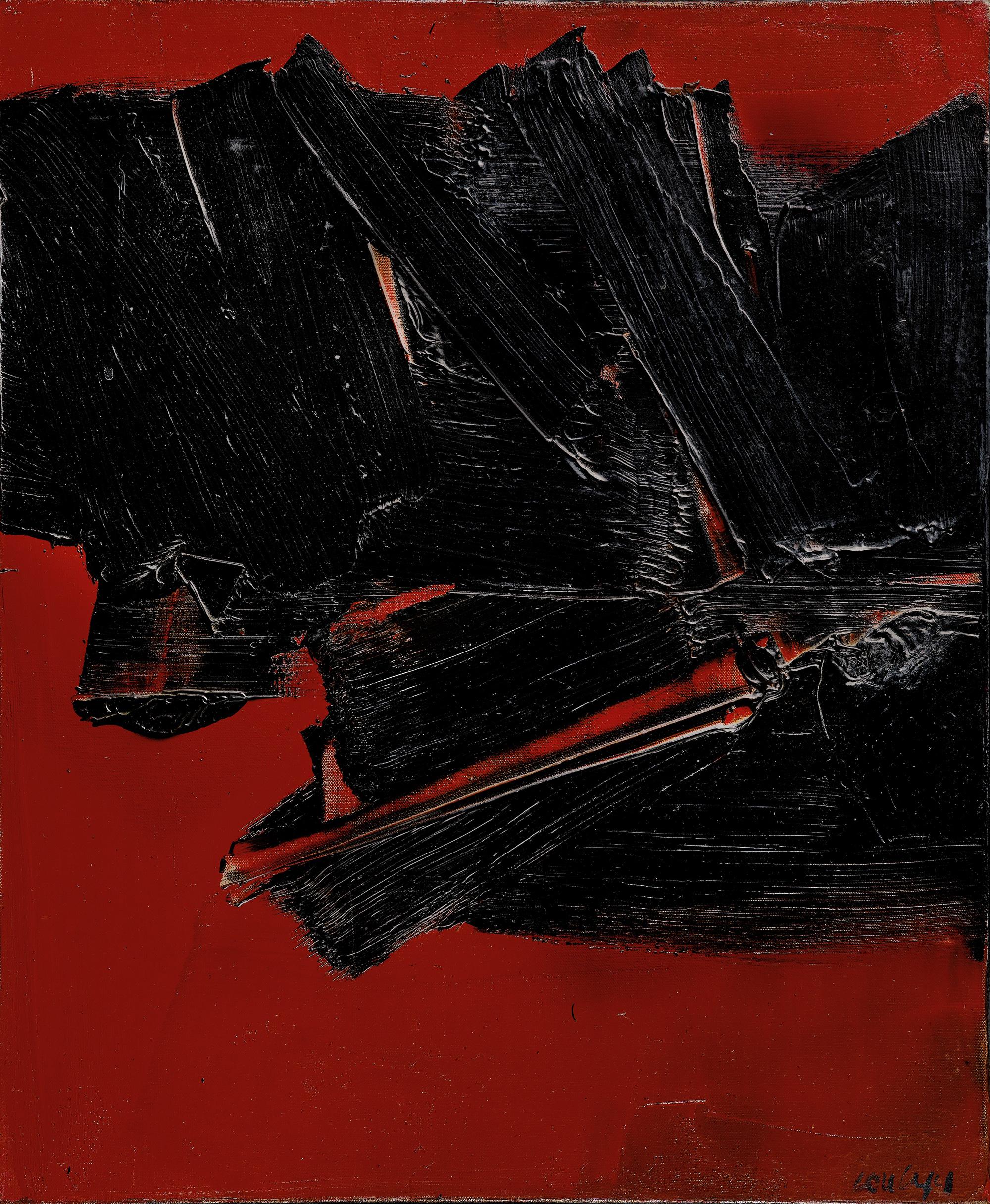 Pierre Soulages - Peinture
