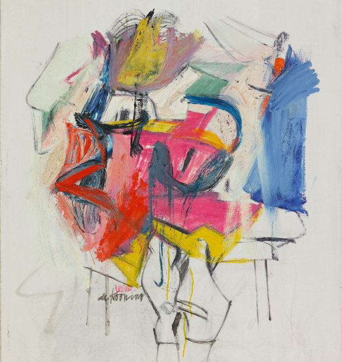 De Kooning - Woman, Sketch 7
